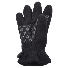 Jack Wolfskin Fleece Gloves Kids black